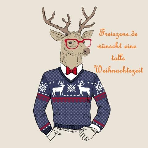 Freiszene.de wünscht frohe Weihnachten